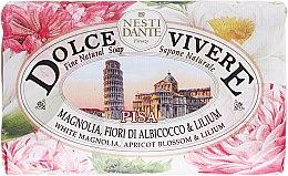 Kup Naturalne mydło w kostce Biała magnolia, kwiat moreli i lilia - Nesti Dante Dolce Vivere Pisa