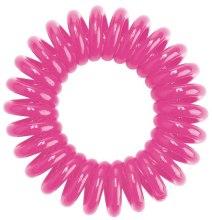 Gumki do włosów, różowe, 3szt. - HH Simonsen Hair Cuddles Pink — фото N2