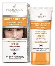 Kup Krem anti-aging na dzień zapobiegający przebarwieniom SPF 30 - Floslek White & Beauty