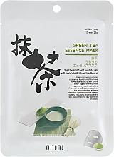 Kup Maseczka do twarzy w płachcie Zielona herbata - Mitomo Green Tea Essence Mask
