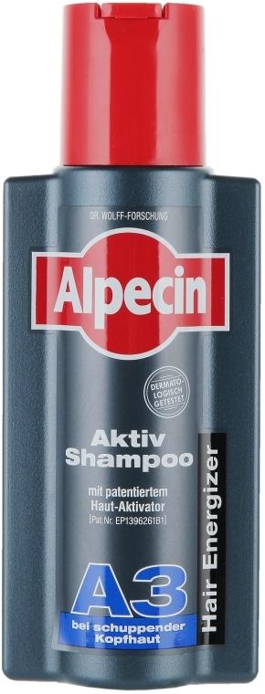 Przeciwłupieżowy szampon zapobiegający wypadaniu włosów - Alpecin A3 Anti Dandruff — фото N1