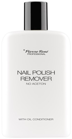 Płyn do usuwania lakieru hybrydowego - Pierre Rene Nail Polish Remover With Oil Conditioner