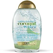 Kup Nawilżająco-odżywczy szampon do włosów z wodą kokosową - OGX Coconut Water Weightless Hydration+ Shampoo
