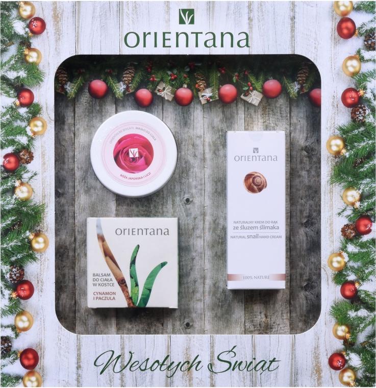 Zestaw świąteczny - Orientana (b/lot 60 g + b/butter 100 g + h/cr 50 ml)