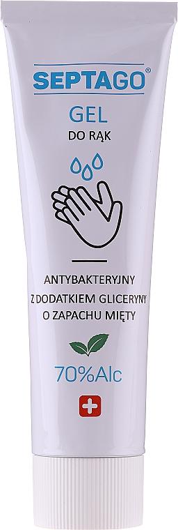 Antybakteryjny żel do rąk o zapachu mięty - Septago Gel