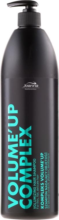 Szampon nadający objętość włosom cienkim, płaskim, delikatnym z kompleksem volume'up - Joanna Professional