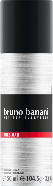 Bruno Banani Pure Man - Perfumowany dezodorant w sprayu dla mężczyzn