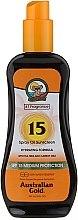 Kup Spray przeciwsłoneczny SPF 15 - Australian Gold Tea Tree&Carrot Oils Spray