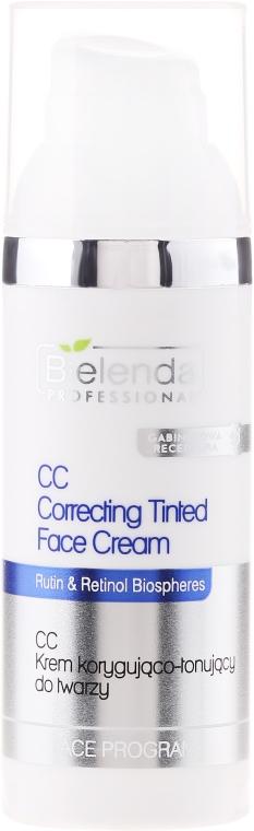 Korygująco-tonujący krem CC do twarzy - Bielenda Professional Face Program CC Correcting Tinted Face Cream — фото N1