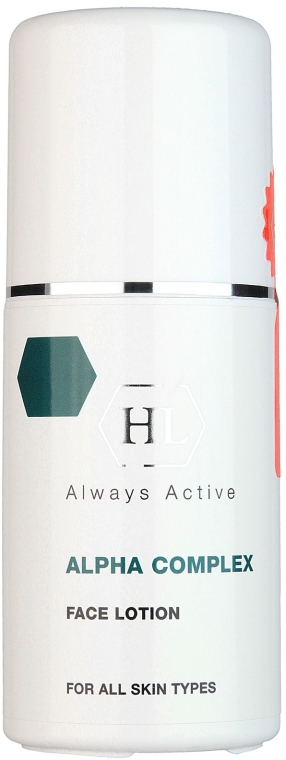 Lotion do twarzy - Holy Land Cosmetics Alpha Complex Face Lotion — фото N1
