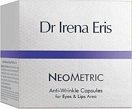 Kup Kapsułki na noc redukujące zmarszczki wokół oczu i ust - Dr Irena Eris Neometric Anti-Wrinkle Capsules for Eyes and Lips Area