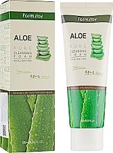 Kup Oczyszczająca pianka z ekstraktem z aloesu - FarmStay Pure Cleansing Foam Aloe