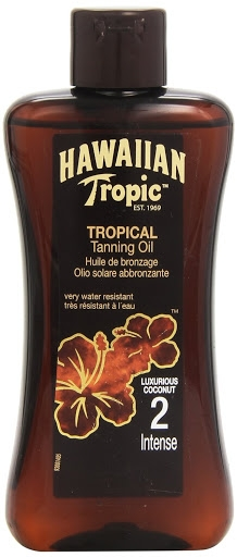 Intensywny olejek do ciała przedłużający opaleniznę SPF 2 - Hawaiian Tropic Sun Tan Oil Intense  — фото N1