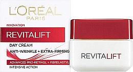 Kup Przeciwzmarszczkowy krem do twarzy - L'Oreal Paris RevitaLift Anti-Wrinkle + Extra Firming Day Cream