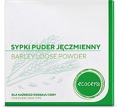 Sypki puder jęczmienny do twarzy - Ecocera — фото N4