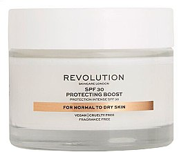 Kup Krem nawilżający do twarzy do cery suchej i normalnej SPF 30 - Revolution Skincare Protecting Boost Face Cream