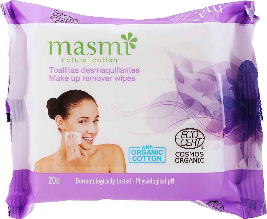 Chusteczki do demakijażu - Masmi Natural Cotton