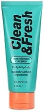 Kup Maseczka glinkowa do oczyszczania porów - Eunyul Clean & Fresh Pore Refining Clay Mask