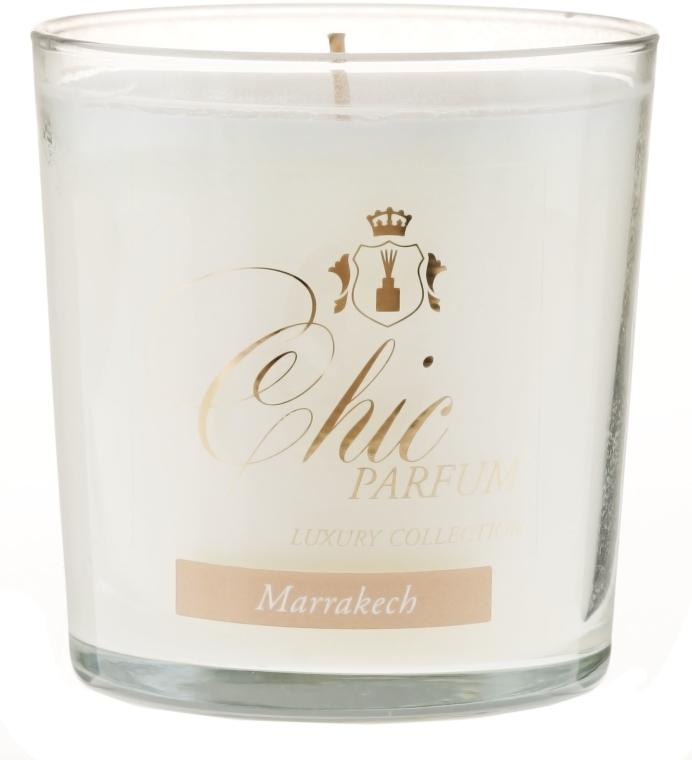 Świeca zapachowa w szkle - Chic Parfum Luxury Collection Marrakech Candle — фото N1