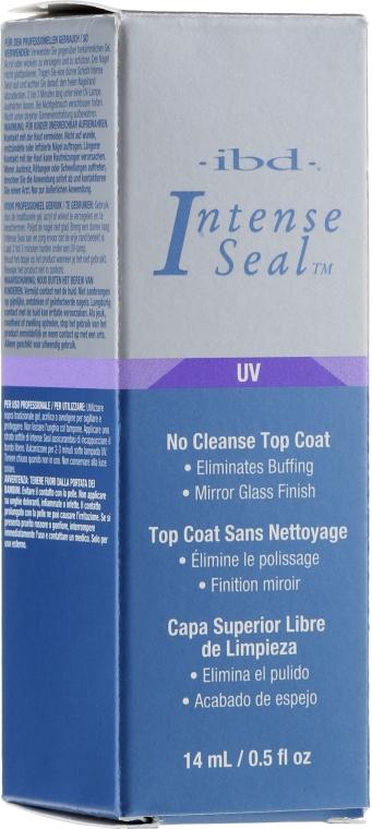 Nawierzchniowy do paznokci - IBD Intense Seal UV No Cleanse Top Coat — фото N2