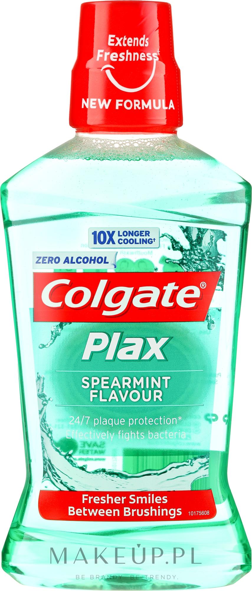 Płyn do płukania jamy ustnej - Colgate Plax Spearmint — фото 500 ml