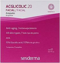 Kup Kompleksowa kuracja w ampułkach z kwasem glikolowym - SesDerma Laboratories Acglicolic 20 Ampoules