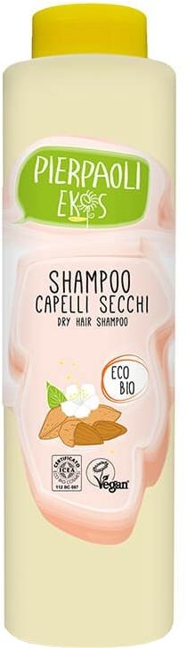 Szampon do włosów suchych, z ekstraktem z organicznych słodkich migdałów - Ekos Personal Care Delicate Shampoo For Dry Hair — фото N2