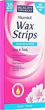 Kup Plastry z woskiem do depilacji nóg i ciała - Beauty Formulas Wax Strips