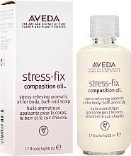 Kup Relaksujący olejek aromatyczny do ciała, kąpieli i skalpu - Aveda Stress Fix Composition Oil