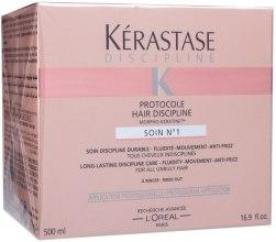 Kup Maska ujarzmiająca niesforne włosy - Kérastase Discipline Protocole Hair Discipline Soin N°1