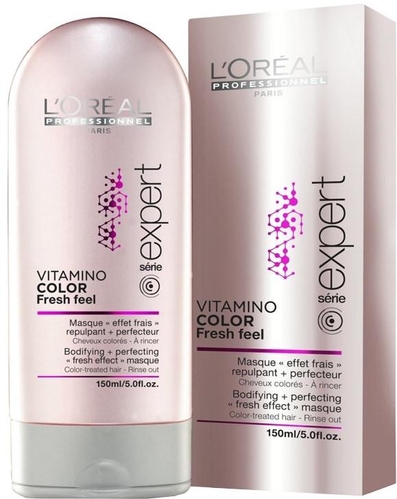 Maska do włosów koloryzowanych - L'Oreal Professionnel Vitamino Color Fresh Feel Mask — фото N4