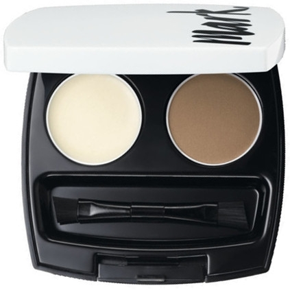 Zestaw do stylizacji brwi - Avon Mark Perfect Brow Styling Duo Eyebrow Kit