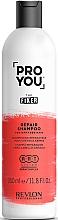 Kup Odbudowujący szampon do włosów Masło Shea i imbir - Revlon Professional Pro You Fixer Repair Shampoo