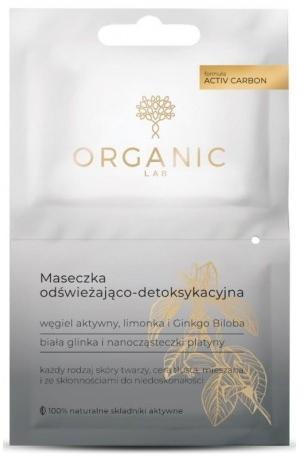 Odświeżająco-detoksykująca maseczka do twarzy - Organic Lab Refreshing And Detoxifying Mask — фото N1