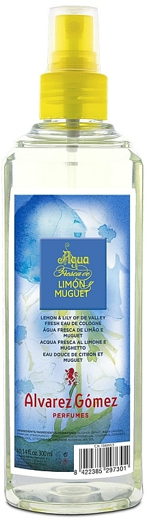 Alvarez Gomez Agua Fresca Limon&Muguet - Woda kolońska — фото N1