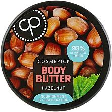 Kup Regenerujące masło do ciała Orzech laskowy - Cosmepick Body Butter Hazelnut