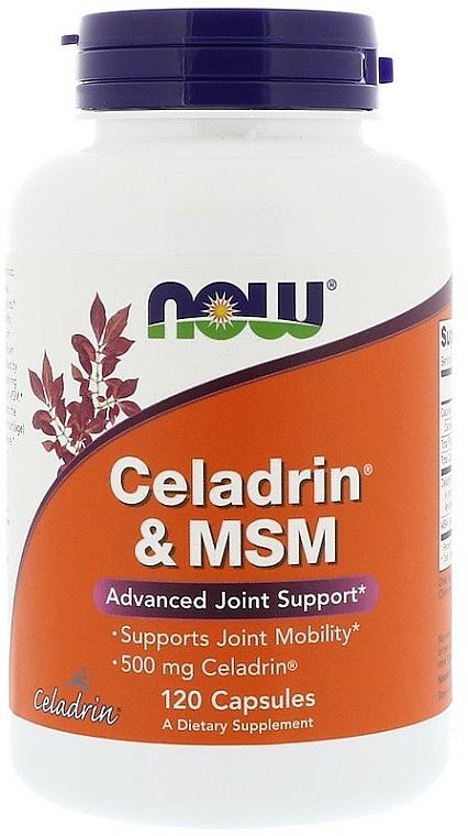 Suplement diety Celadrin & MSM - Now Foods Celadrin & MSM — фото N1