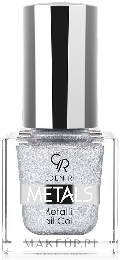 Metaliczny lakier do paznokci - Golden Rose Metals Metallic Nail Color — фото 101