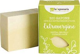 Kup Neutralne mydło w kostce z oliwą extra virgin do skóry ultradelikatnej - La Saponaria Bio Sapone