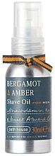 Kup Olejek do golenia Bergamotka i bursztyn - Bath House Bergamot & Amber