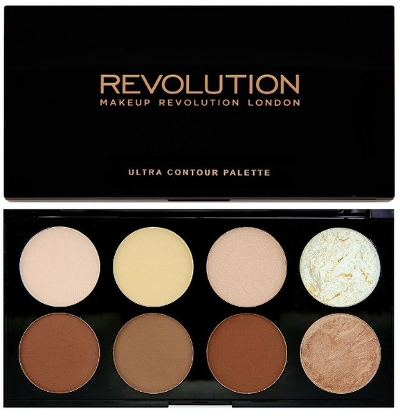 Paleta do konturowania - Makeup Revolution Ultra Contour Palette — фото N1