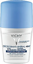 Kup Dezodorant mineralny bez aluminium w kulce - Vichy Deodorant Mineral 48H Roll On