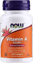 Kup Suplement diety Witamina A - Now Foods Vitamin A 10,000 IU Essential Nutrition