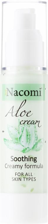 Kojący krem do twarzy Aloes - Nacomi Aloe Cream