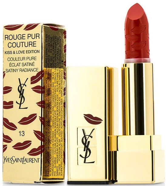 Szminka do ust Kiss & Love - Yves Saint Laurent Rouge Pur Couture Kiss & Love Edition