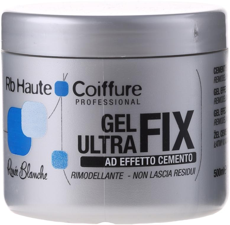 Ultramocny żel do układania włosów - Renée Blanche Haute Coiffure Gel Ultra Fix — фото N2