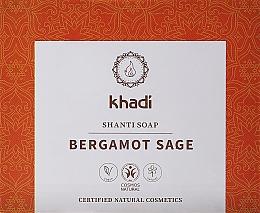 Kup Naturalne mydło z szałwią lekarską i bergamotką - Khadi Bergamot Sage Shanti Soap