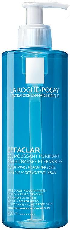 Oczyszczający żel do skóry tłustej i wrażliwej - La Roche-Posay Effaclar Gel Moussant Purifiant — фото N5
