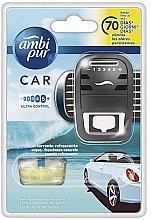 Kup Zestaw do samochodu dyfuzor + wkłady zapachowe Ocean - Ambi Pur (freshener 1 szt + refill 7 ml)