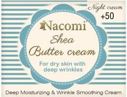 Kup Krem na noc z masłem shea i trójpeptydem - Nacomi Shea Cream 50+